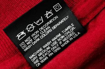 Расшифровка символов на ярлычках одежды