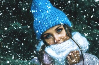 холодная зима