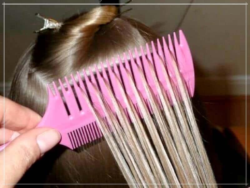 меблирование на расчёску