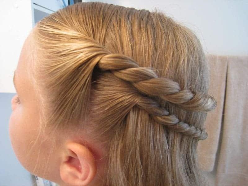 причёска жгуты