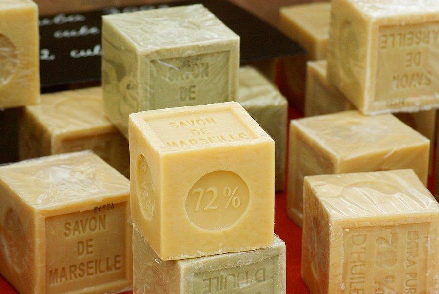 бруски марсельского мыла