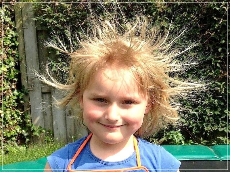 от электризации волос